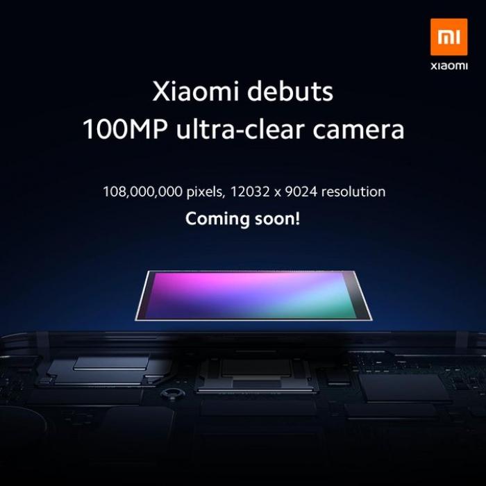 Samsung запускает сенсор изображения 108 миллионов пикселей с Xiaomi